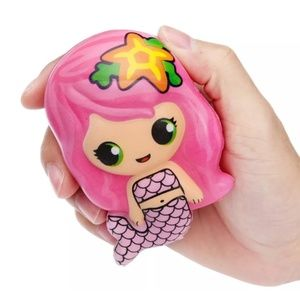 🧜Cute Pink Kawaii Slow Rising Mermaid Squishy